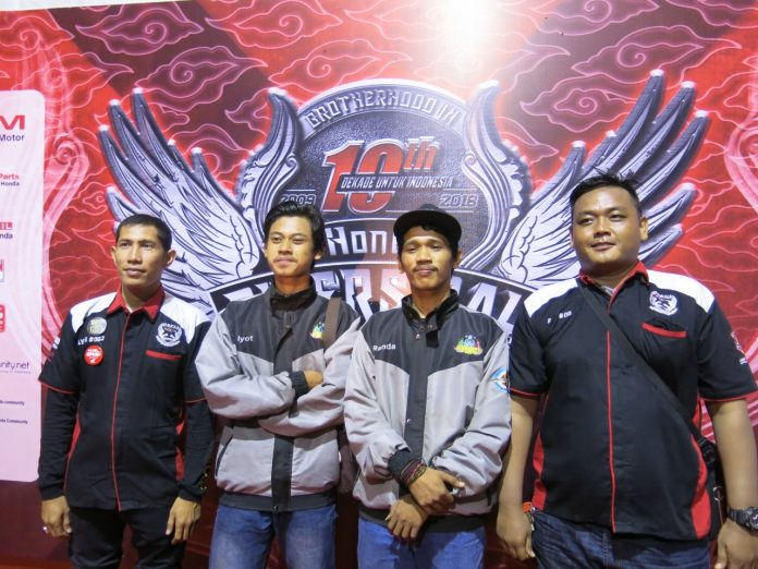 4 Motoris dari Aceh Hadir ke HBD Naik Scoopy
