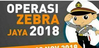 Hari Pertama Operasi Zebra Jaya 2018