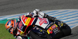 Posisi kedua di Tes Moto2 Jerez 2018