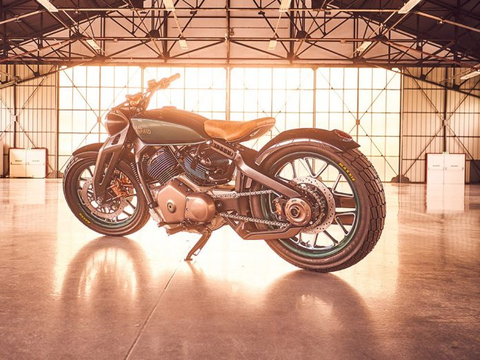 Royal Enfield KX Concept V-Twin