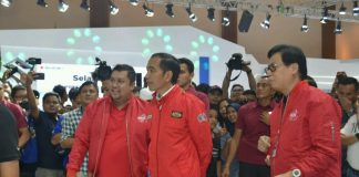 Jokowi Mengunjungi IMoS 2018
