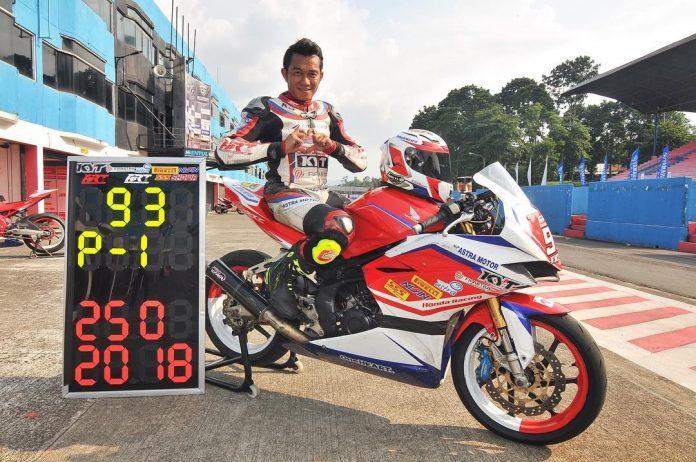 Fitriansyah Kete Juara Nasional IRS Sport 250 2018