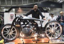 Motor Terbaik di Yokohama Hot Rod Custom Show 2018