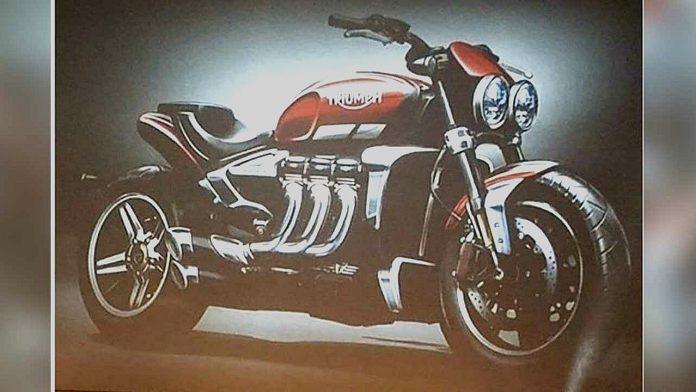 Sketsa Triumph Rocket III Baru