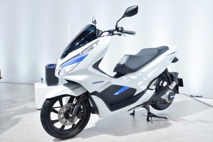 Honda PCX Electric Diluncurkan di Jepang