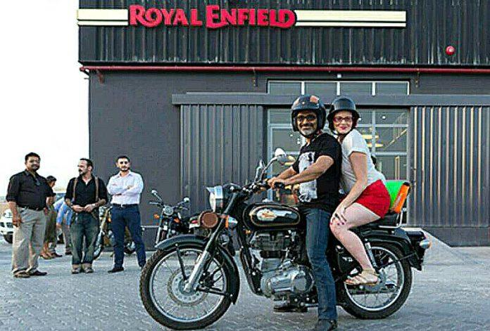 Royal Enfield Memilih Thailand