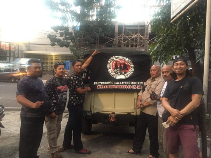 Bikers Brotherhood 1% MC Kirim Bantuan