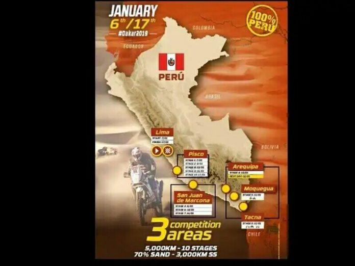 Reli Dakar 2019 Dimulai