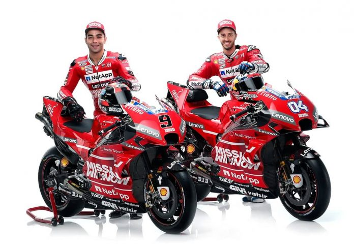 Mission Winnow Ducati Team MotoGP 2019 Diluncurkan