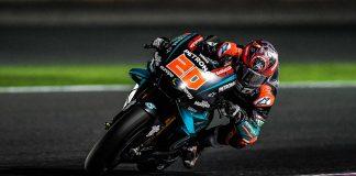 Quartararo di Tes MotoGP 2019 Qatar