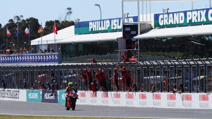 Race 2 WorldSBK 2019 Phillip Island