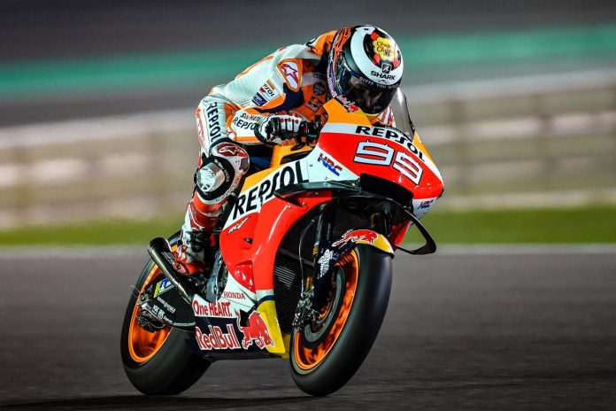 Lorenzo di Tes MotoGP 2019 Qatar