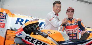 RCB Sponsor Repsol Honda di MotoGP