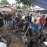 Sewindu BB1%MC Jakarta Chapter, Bantu Masyarakat Terdampak Tsunami