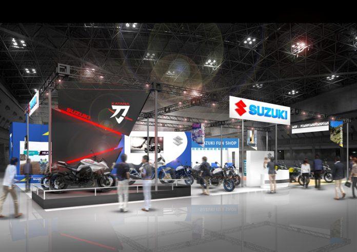 Suzuki Katana Dihadirkan di Osaka Motorcycle Show 2019
