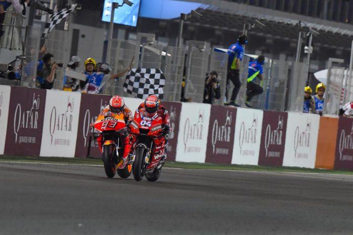 Kemenangan Dovi di MotoGP 2019 Qatar Nyaris Batal