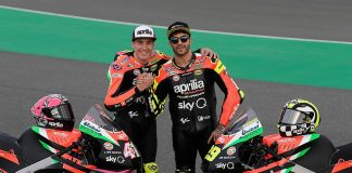 Aprilia Racing Team di Musim MotoGP 2019