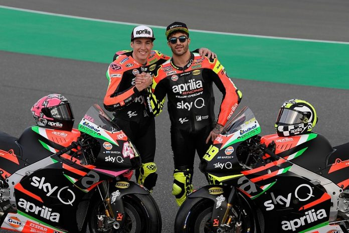 Aprilia Racing Team di Musim MotoGP 2019