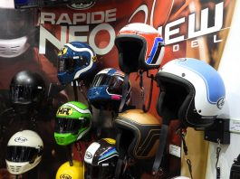 Koleksi Terbaru Helm Arai di Tokyo Motorcycle Show 2019