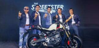 Honda CB150R Streetster 2019
