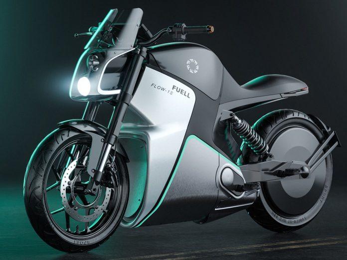 Sportbike Listrik Fuell Flow