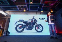 Desain Honda CB150R Streetster