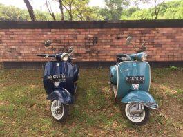 2 Vespa VBB 1964 dan 1965