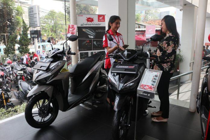 Februari 2019 Ekspor Motor Honda