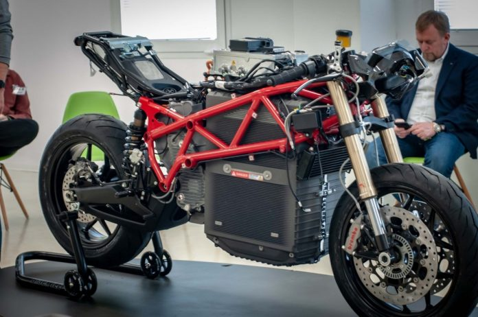 Energica Eco Corsa MotoE 2019
