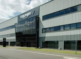 Triumph Trident Dipatenkan Sebagai Sepeda Motor Listrik