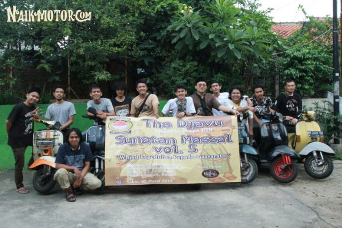 Komunitas Vespa THE DJAVU