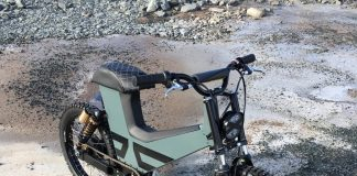 Moped Listrik Suru Scrambler