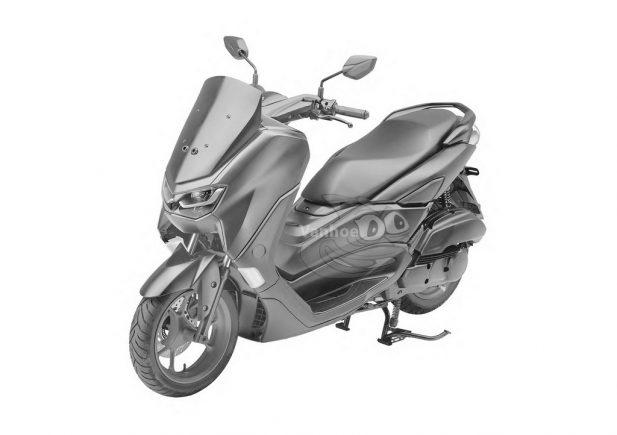 Rendering Yamaha NMax