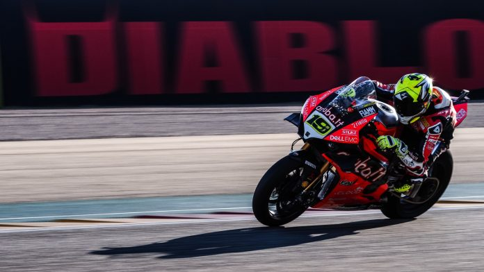 Superpole Race WorldSBK 2019 Aragon