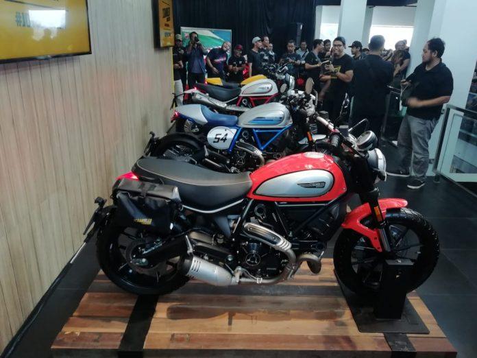 Cicilan Tanpa Bunga Scrambler Ducati 2019