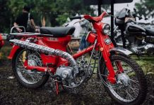 Restorasi Honda Trail Cub 55