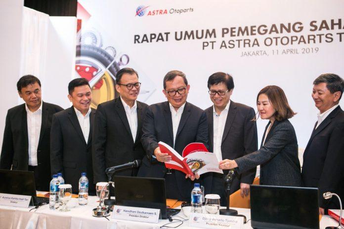 2018 Astra Otoparts Membukukan Laba Bersih Rp611 Miliar