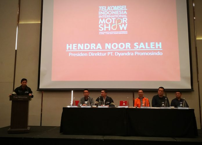 Telkomsel Indonesia Internasional Motor Show 2019