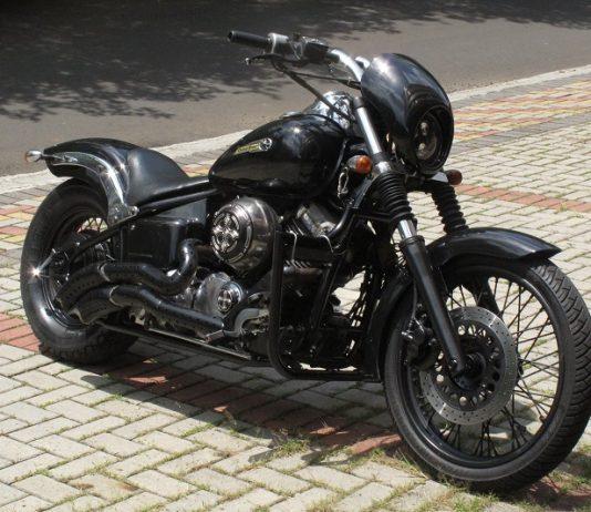 Dragstar 650 milik Riki