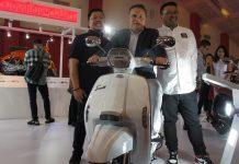 Test Ride Lambretta di Telkomsel IIMS 2019