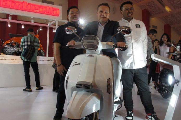 Test Ride Lambretta di Telkomsel IIMS 2019