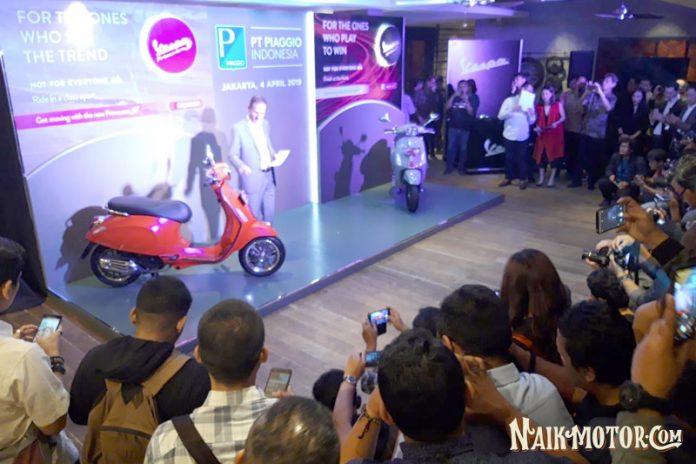 Vespa Primavera S ABS dan Sprint S ABS Diluncurkan