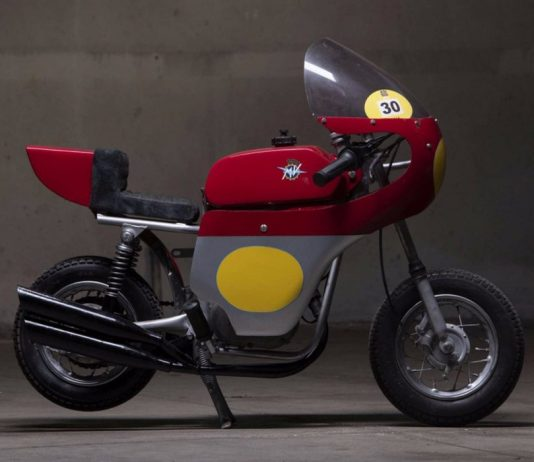 MV Agusta Mini Bike Racing