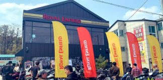 Royal Enfield di Korea Selatan