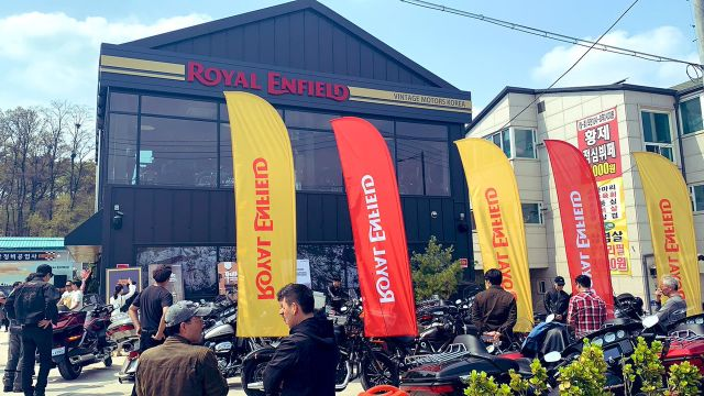 Royal Enfield di Korea Selatan