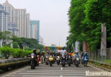 Galeri Foto Saturday Morning Ride Telkomsel x NaikMotor