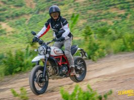 Test Ride Scrambler Ducati Icon dan Desert Sled 2019