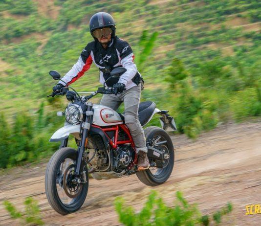 Test Ride Scrambler Ducati Icon dan Desert Sled 2019