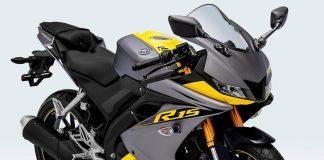 R15 dengan Warna dan Stripping Baru
