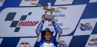 Rins Juara MotoGP 2019 Amerika